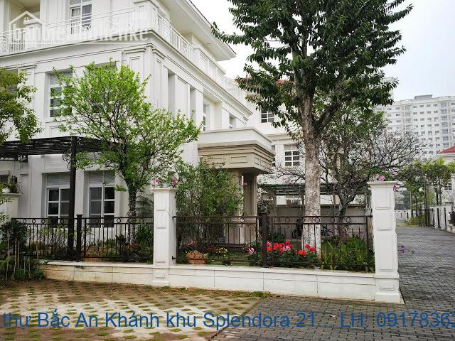 Bán biệt thự Bắc An Khánh khu Splendora 210m2 TB giá 12,5tỷ