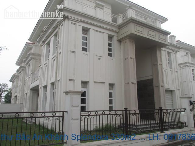 Bán biệt thự Bắc An Khánh Splendora 330m2 TN giá 36tỷ