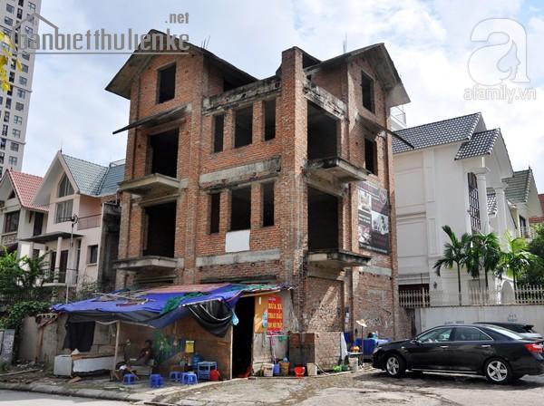 Bán biệt thự NO4A Dịch Vọng 210m2 xây thô giá 37tỷ