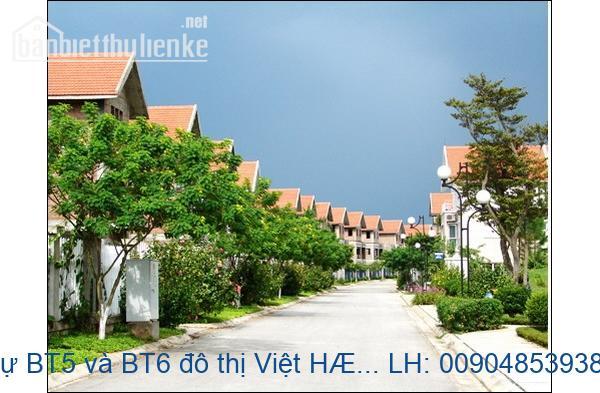 Bán biệt thự BT5 đô thị Việt Hưng, Long Biên đã hoàn thiện