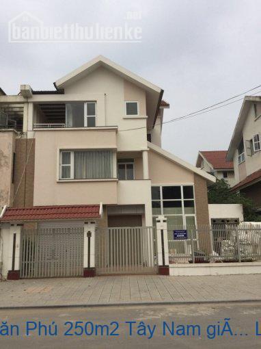 Bán biệt thự BT9 Văn Phú 250m2 Tây Nam giá 13,8tỷ