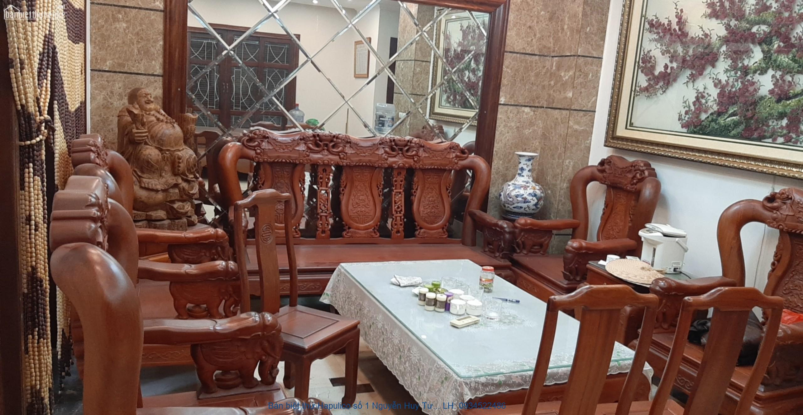 Bán biệt thự Hapulico số 1 Nguyễn Huy Tưởng,  căn góc,153m2. LH 093452