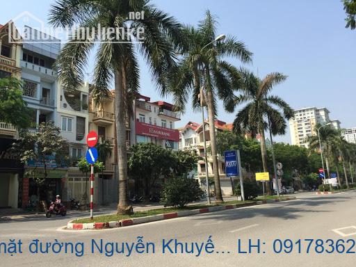 Bán biệt thự mặt đường Nguyễn Khuyến KĐT Văn Quán 198m2 giá 30tỷ