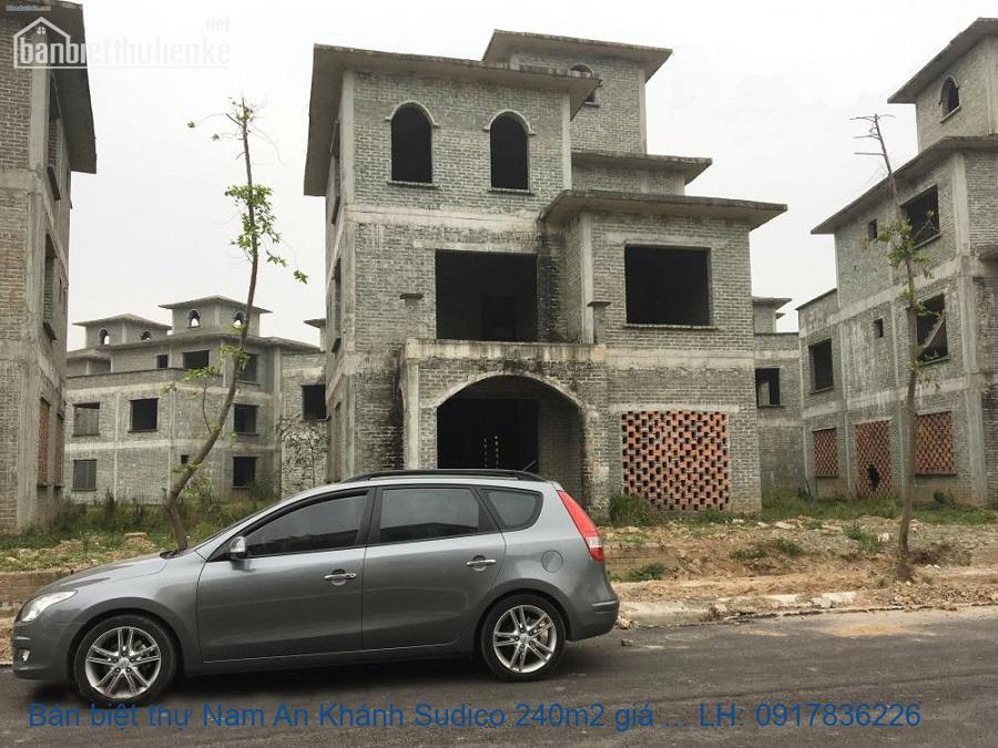 Bán biệt thự Nam An Khánh Sudico 240m2 giá 9tỷ
