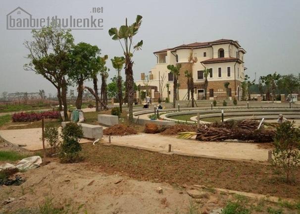 Bán biệt thự Nam An Khánh Sudico 383m2 mặt hồ lớn giá 15tỷ