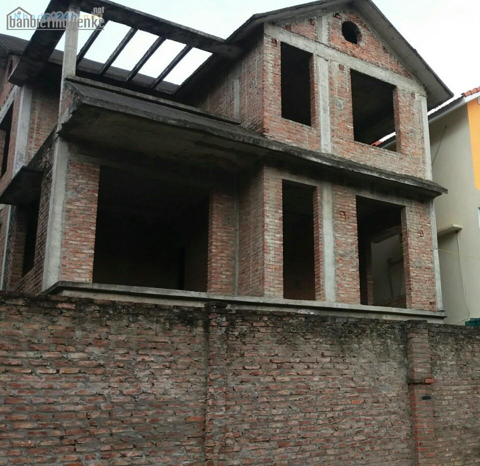 Bán biệt thự NO6A Dịch Vọng 189m2 xây thô giá 34tỷ