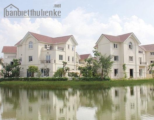 Bán biệt thự Sài Đồng 267m2 view hồ lô góc giá 24tỷ