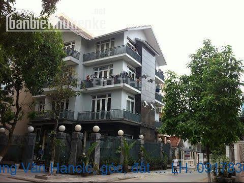 Bán biệt thự trung Văn Hancic, góc, đất tự xây 170m2. LH0934522486