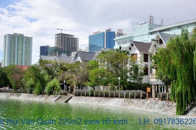 Bán biệt thự Văn Quán 220m2 view hồ kinh doanh giá 29tỷ