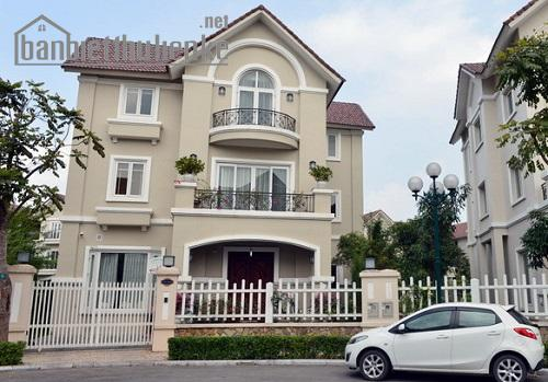 Bán biệt thự Vinhomes Riverside Hoa Anh Đào 200m2 xây thô giá 12tỷ