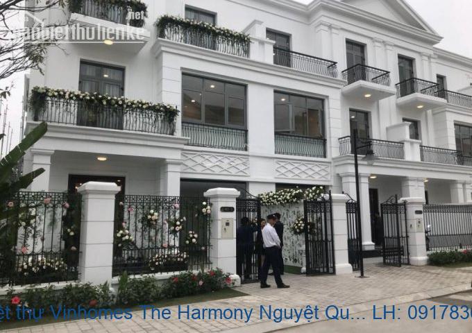 Bán biệt thự Vinhomes The Harmony Nguyệt Quế 350m2 giá 28tỷ