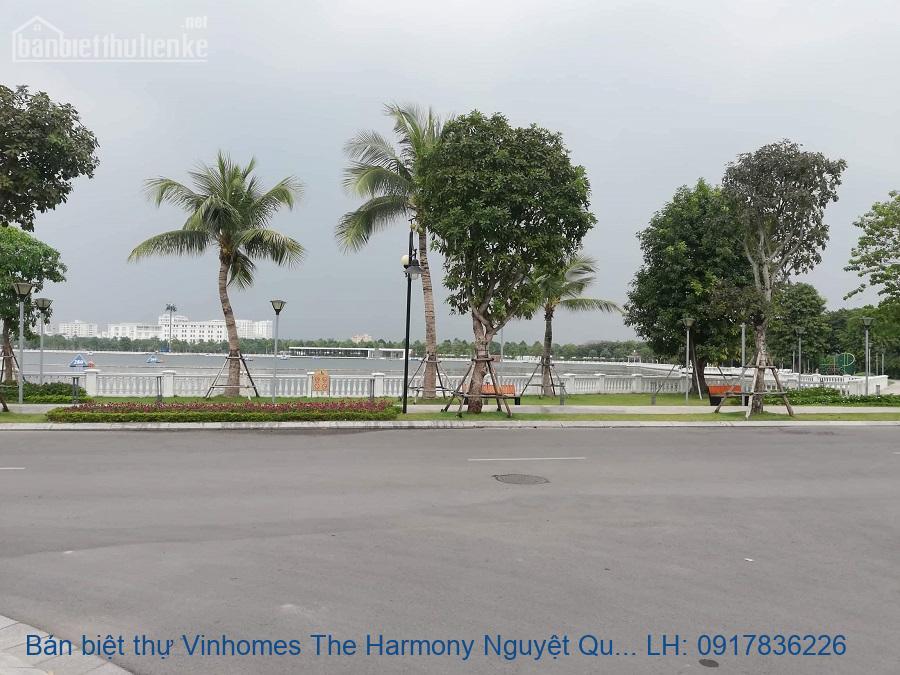 Bán biệt thự Vinhomes The Harmony Nguyệt Quế 420m2 giá 65tỷ