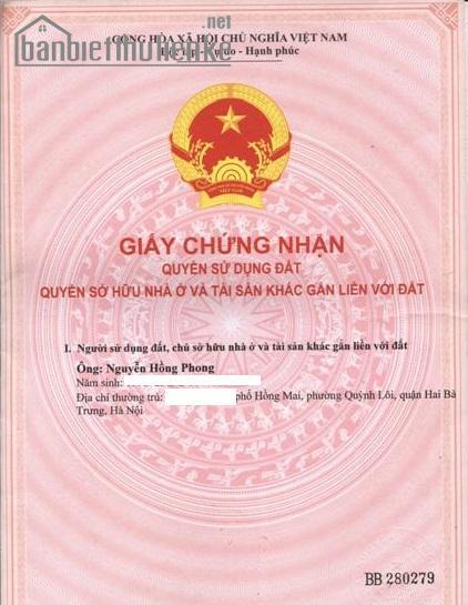Bán đất biệt thự Sài Đồng 132m2 TB giá 42 triệu/m2