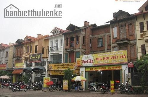 Bán liền kề NO1 Sài Đồng, mặt phố Hoàng Thế Thiện 115m2 ĐB giá 17tỷ