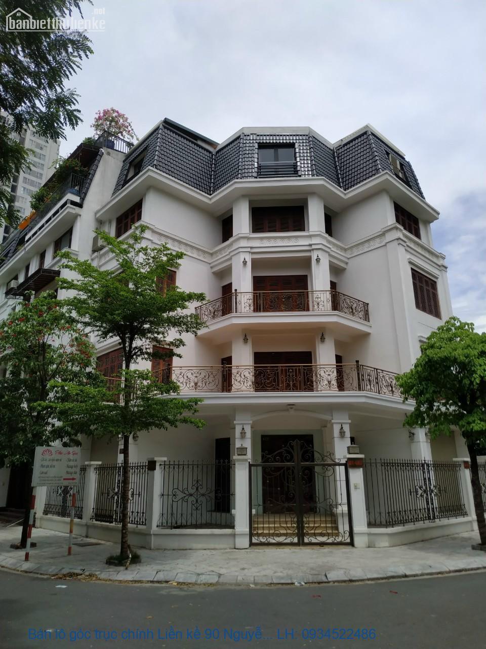 Bán lô góc trục chính Liền kề 90 Nguyễn Tuân 165m2, kinh doanh tốt