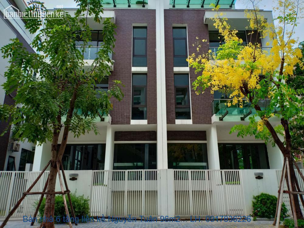 Bán nhà 6 tầng liền kề Nguyễn Tuân 96m2 mt 6m giá 18tỷ. LH 0917836226