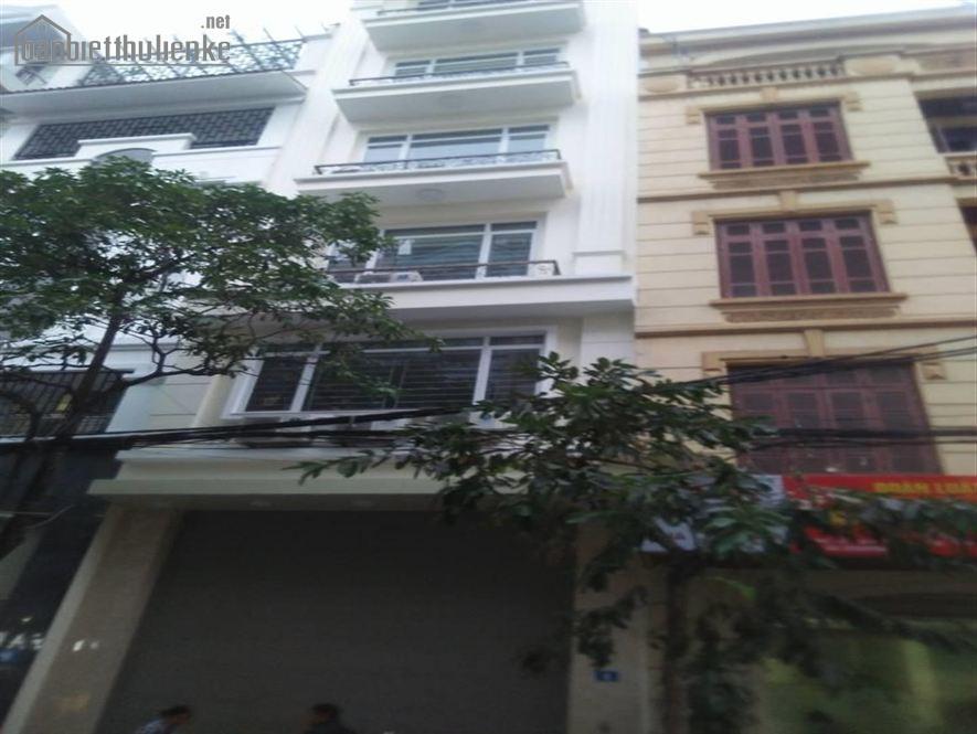 Bán nhà chia lô phố Nguyễn Thị Định 50m2x5T MT:4m giá 10tỷ
