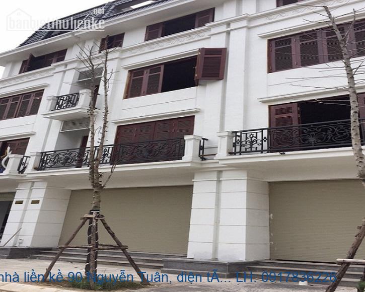 Bán nhà liền kề 90 Nguyễn Tuân 67.8m2 MT:5,5m giá 15tỷ