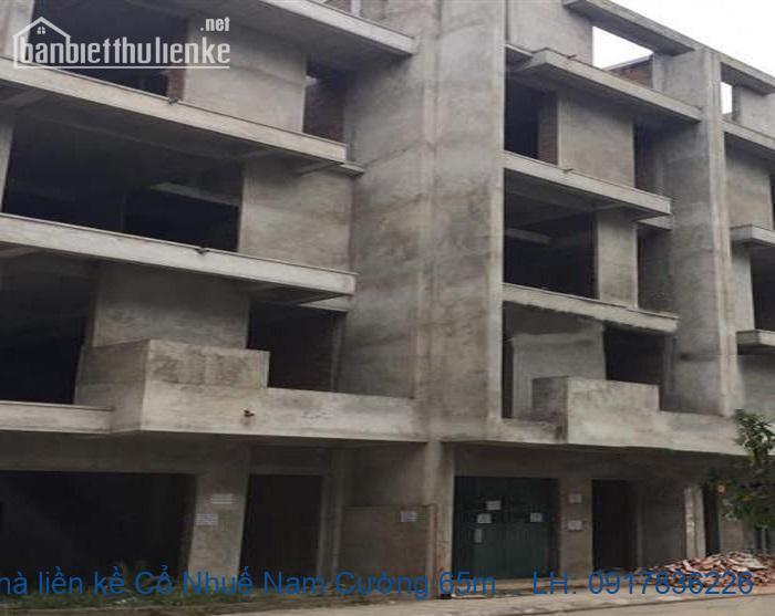Bán nhà liền kề Cổ Nhuế Nam Cường 65m2 giá 12tỷ
