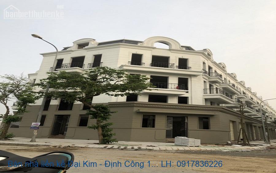 Bán nhà liền kề Đại Kim - Định Công 157,8m2 lô góc 26,5tỷ