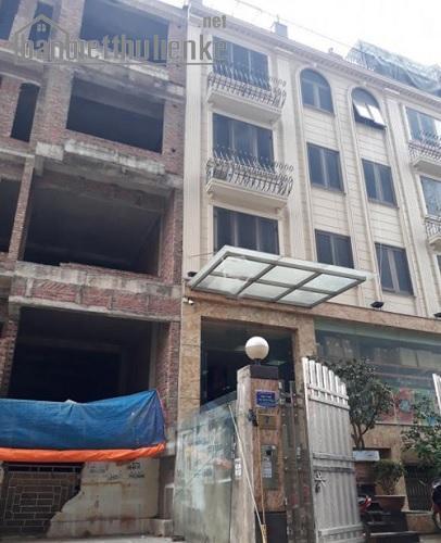 Bán nhà liền kề Nam Trung Yên 114m2x6T MT:6m TN giá 21tỷ