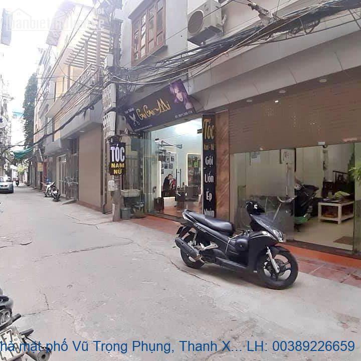 Bán nhà mặt phố Vũ Trọng Phụng, Thanh Xuân 78m2 giá 27 tỷ