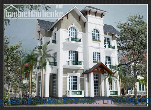 Biệt thự đơn lập hoàn thiện khu BT8 Việt Hưng, Long Biên