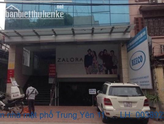 Chính chủ bán nhà mặt phố Trung Yên 11, Cầu Giấy 91m2 giá 24,5 tỷ