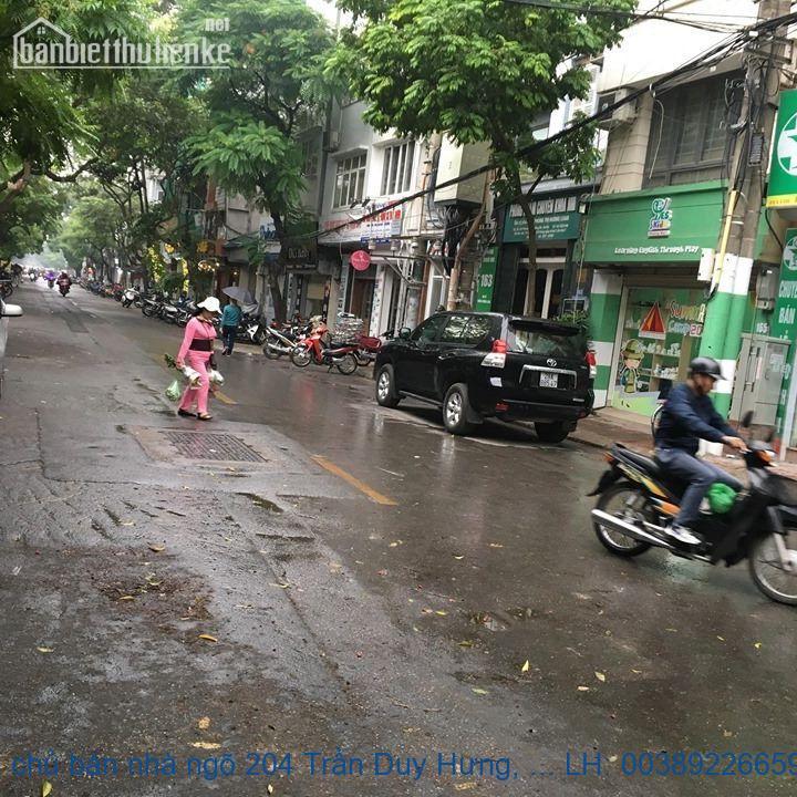 Chính chủ bán nhà ngõ 204 Trần Duy Hưng, Cầu Giấy 100m2 giá 20,5 tỷ