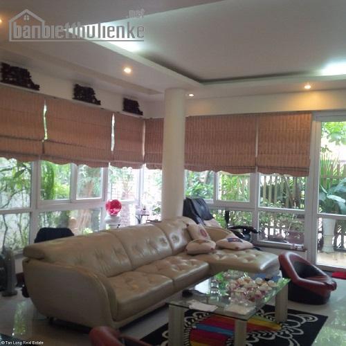 cho thuê biệt thự Sài Đồng 198m2 full nội thất