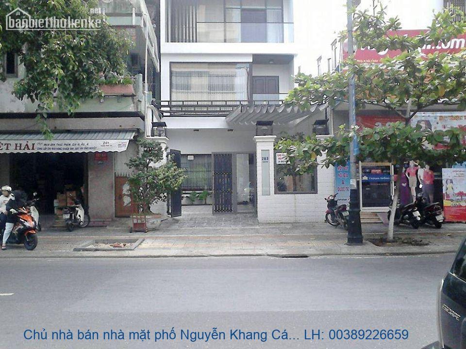 Chủ nhà bán nhà mặt phố Nguyễn Khang Cầu Giấy 140m2 giá 44,6tỷ